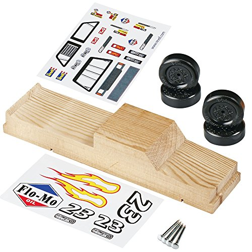 Revell Race Truck Starter Series Pinewood Derby Vehicle Kit (Hobbico Kit)