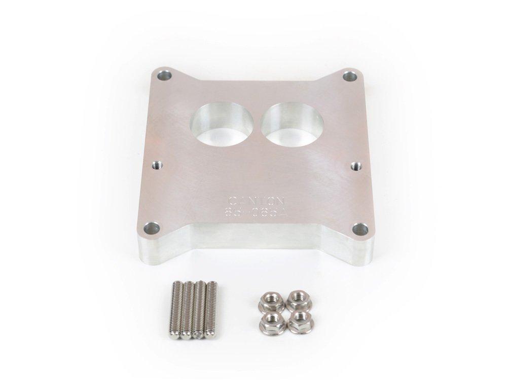 Canton Racing Products 85-065A 1' Aluminum Carburetor Adapter for Holley #R4412 2-Barrel Carburetor