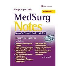 MedSurg Notes: Nurse's Clinical Pocket Guide