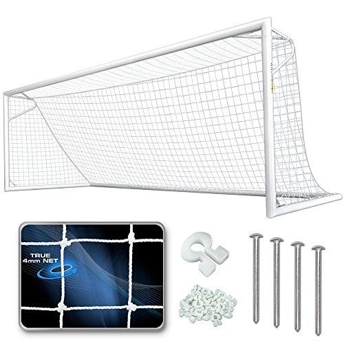 AGORA Premier Pro Soccer Goal - 8'x24' (Each) by AGORA