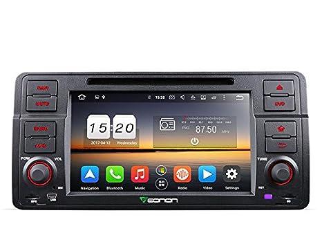 Eonon GA8150A BMW E46 Car Stereo Player, Car Radio Android 7 1 Octa-Core  2GB RAM GPS Navigation System 7 Inch Single Din Multimedia Head Unit,  Support