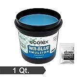 Ecotex WR-BLUE Water Resistant Textile Diazo Screen Printing Emulsion (Quart)