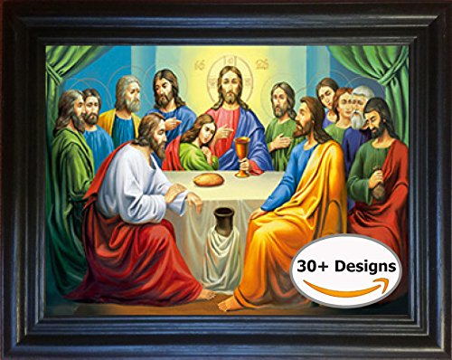The Last Supper Framed 3D Lenticular Picture - 14.5x18.5