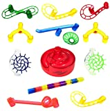 Marble Genius Booster Set (Add-On Set - 20 Marbulous Marble Run Toy Pieces)