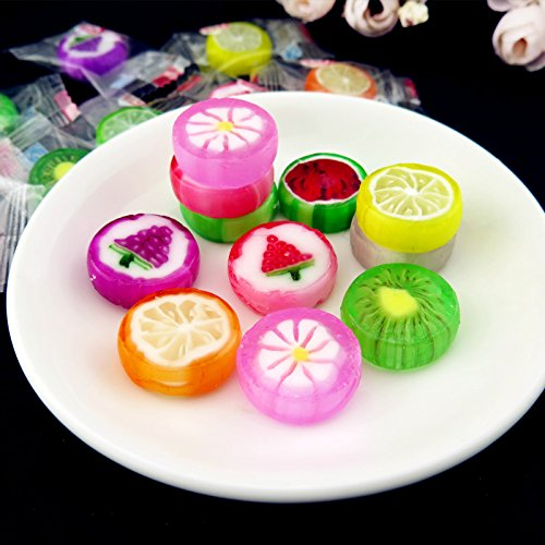 Interesting Gift Cute Candy with Mix Fruit Flavor 150g (5.2oz) by lara lee@hxy (Image #4)