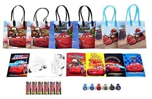 Disney Cars Party Favor Set - 6 Packs (42 Pcs)]()