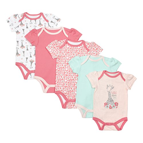 baby-gear-baby-girls-newborn-5-pack-grow-with-me-bodysuits-safari-0-3-months-3-6-months
