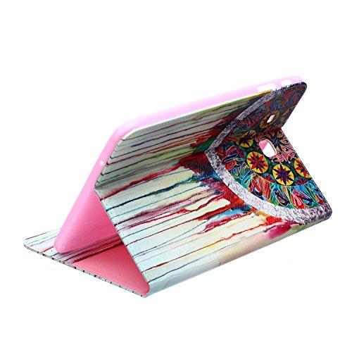 MACOOL PU cuero caja de la carpeta cubierta de la caja de la bolsa en el libro de estilo de silicona de nuevo caso de la pintura del color del teléfono móvil concha protectora Patrón Caja Cubierta Vol 13HUA