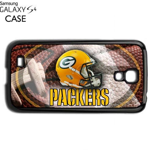Packers Samsung Galaxy S4 PLASTIC cell phone Case / Cover Great Gift Idea Green Bay Football