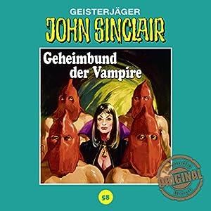 Geheimbund der Vampire (John Sinclair - Tonstudio Braun Klassiker 58) Hörspiel