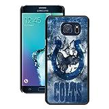 S6 Edge+ Case,Indianapolis Colts 17 Black Samsung Galaxy S6 Edge Plus Screen Phone Case Unique and Grace Design