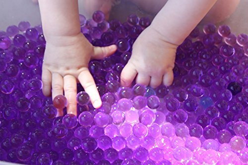 (Cosmo Beads Magic Balls- 13600 Crystal Jelly Beads Grow in Water - Fun for All Ages (Purple))