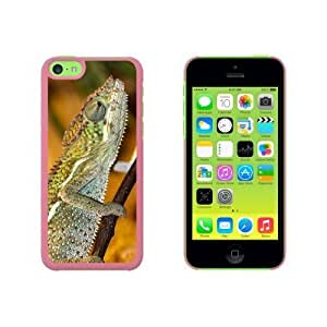 Chameleon Lizard Reptile Snap On Hard Protective For Iphone 6 Plus 5.5 Phone Case Cover - Black
