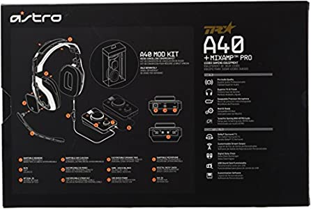 ASTRO Gaming A40 TR Wired Headset : Highly recommend