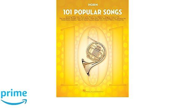 101 Popular Songs: for Horn Paperback – July 1, 2017