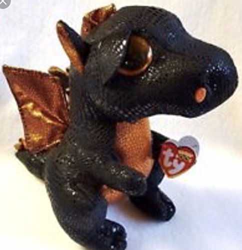 "Ty Beanie Boo Buddy Merlin the Dragon 9"" Exclusive"