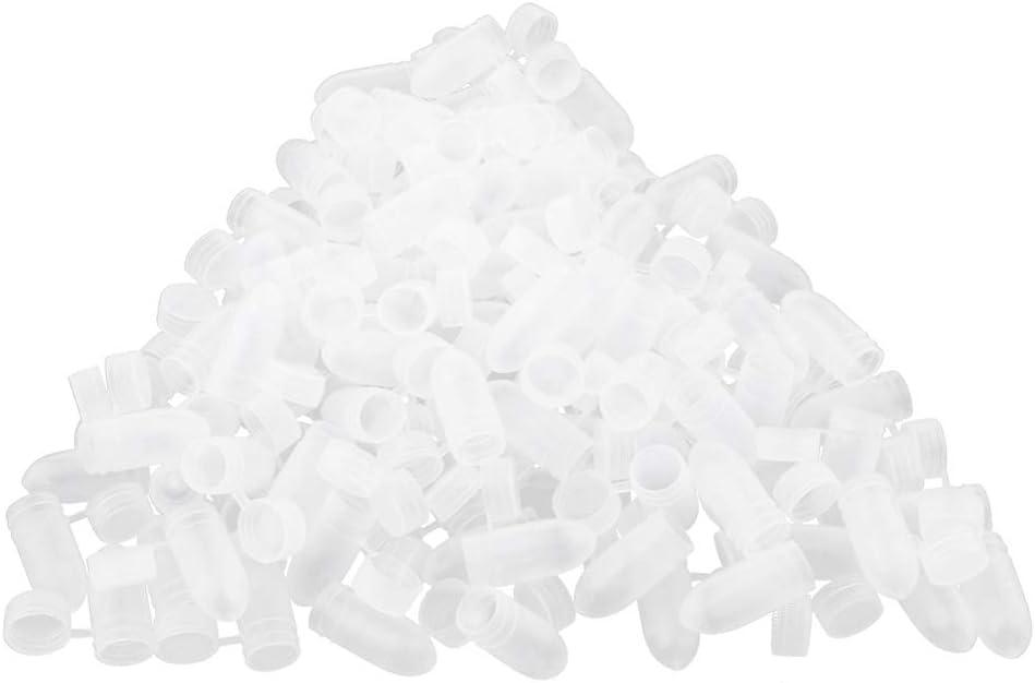 100x Contenedores de Almacenamiento de Cápsulas A Pieza de Respuesto de Plastico
