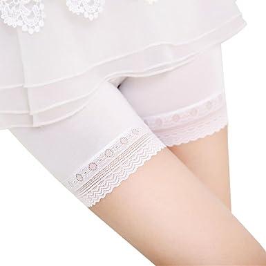 économiser jusqu'à 60% économiser jusqu'à 60% qualité fiable Lialbert Long Short Femme Short sous Robe en Dentelle Femme ...