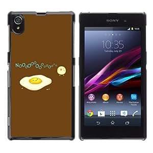 YOYOSHOP [Funny Egg & Bird Illustration ] Sony Xperia Z1 L39h Case