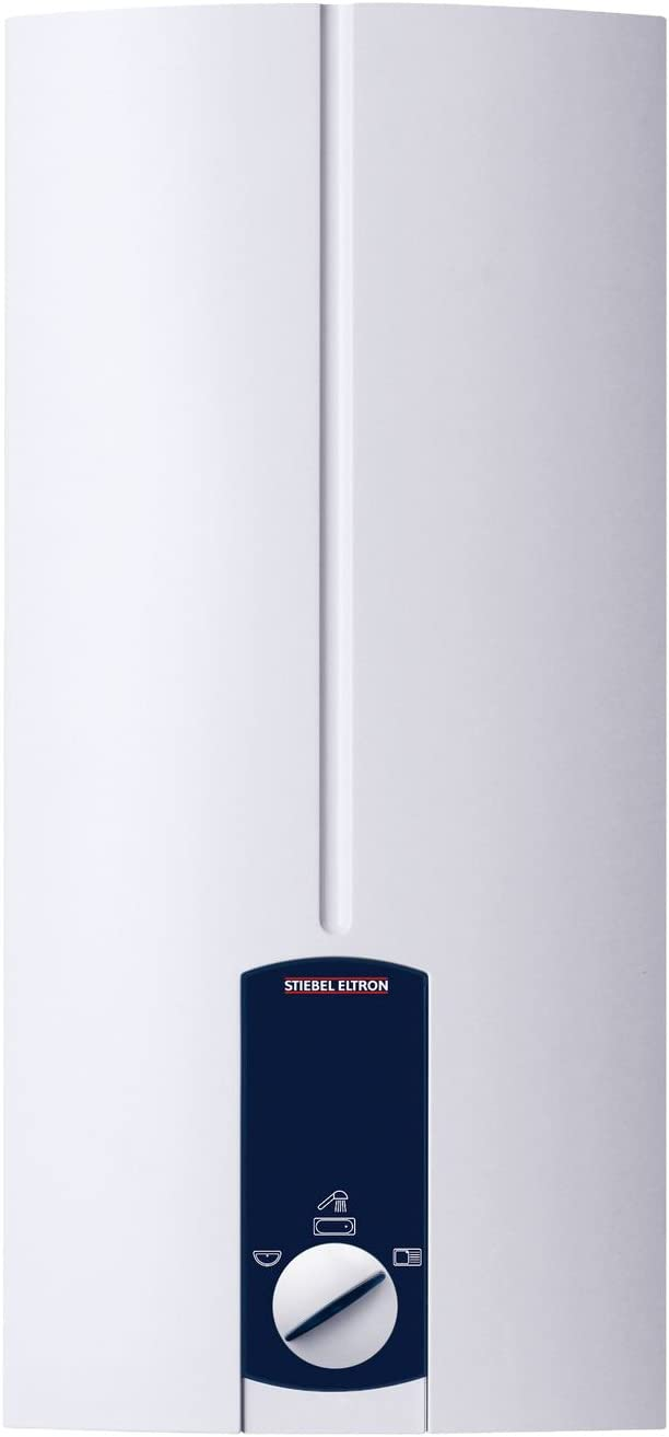 Stiebel Eltron Durchlauferhitzer DHB Weighted Electronically Controlled St, White, (DHB 18 ST) 227608 18 kilowatts, 400 voltsV