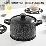 Silicone Trivet Mat - Hot Pot Holder Hot Pads for