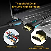 Supports HDMI 2.0b 4K 60Hz HDR Pack of 2 Premium HDMI Cord Type TESmart 1.5M High Speed with Ethernet 4K@60Hz 4:4:4 HDMI Cables