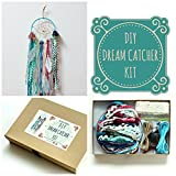 Aqua Blue DIY Dream Catcher Craft Kit for Baby Nursery Room Decor Do It Yourself Project