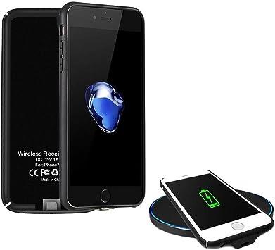 XLTOK QI Receptor Compatible con iPhone 7/6 /6s [Ultra-Delgado ...