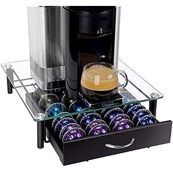 Amazon Com Decobros Crystal Tempered Glass Nespresso