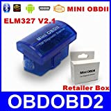 Qiker Mini OBD II OBD2 Auto Bluetooth Scanner Diagnostic Adapter Check Car Engine Diagnostic Tool for Andorid