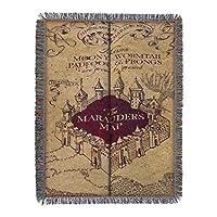 """Harry Potter, """"Manta tejida de tiro de tapicería del mapa del merodeador"""", 48 """"x 60"""""""