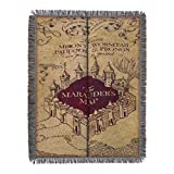 Harry Potter, 'Marauder's Map' Woven Tapestry Throw Blanket, 48' x 60', Multi Color