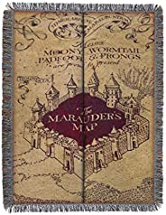 "Harry Potter Marauder's Woven Tapestry Throw Blanket, 48"" x 60"","