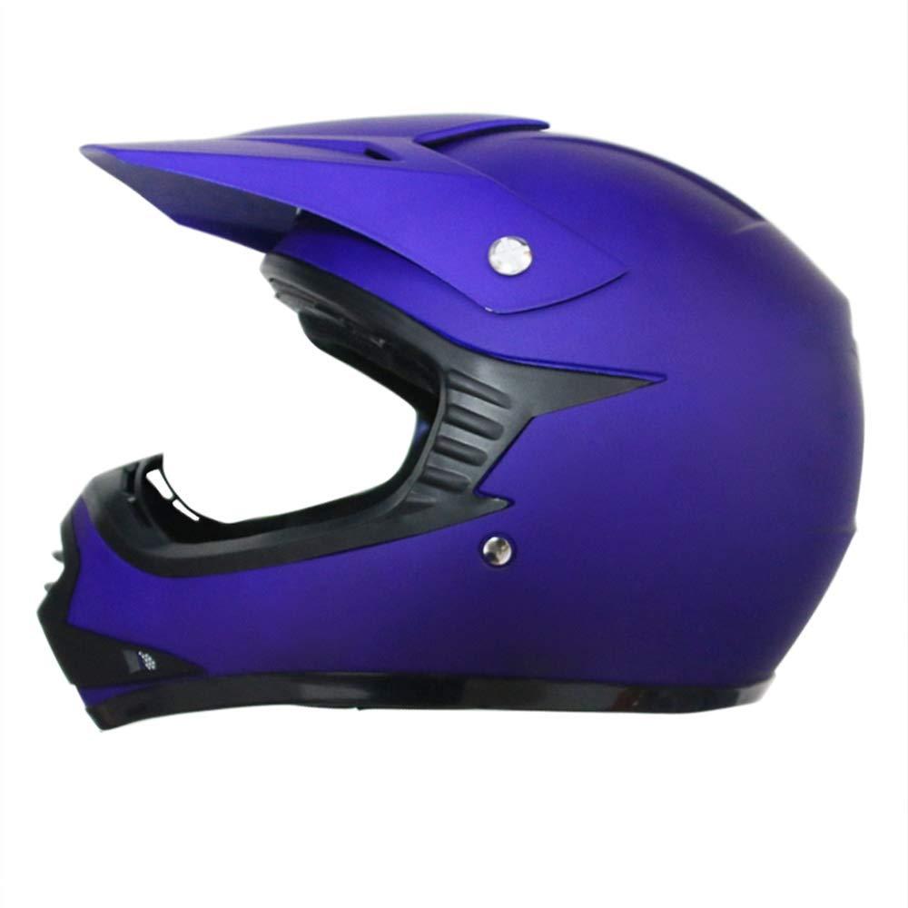 y Guantes y L Leopard LEO-X15 Casco de Motocross para Ni/ños Negro Mate L Gafas ECE Homologado 53-54cm 7cm