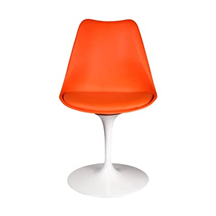 Eero Saarinen Style Tulip Chair, Orange