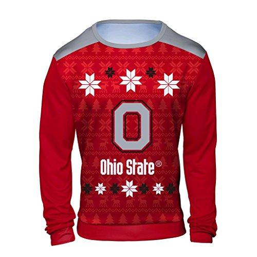 Ohio State Buckeyes Ugly Sweater Ohio State Christmas Sweater Ugly