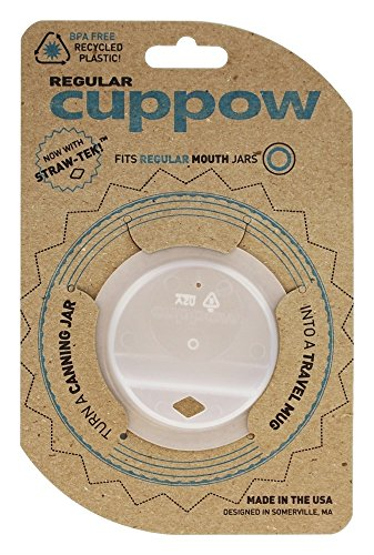 Cuppow, Canning Jar Drinking Lid Regular Mouth