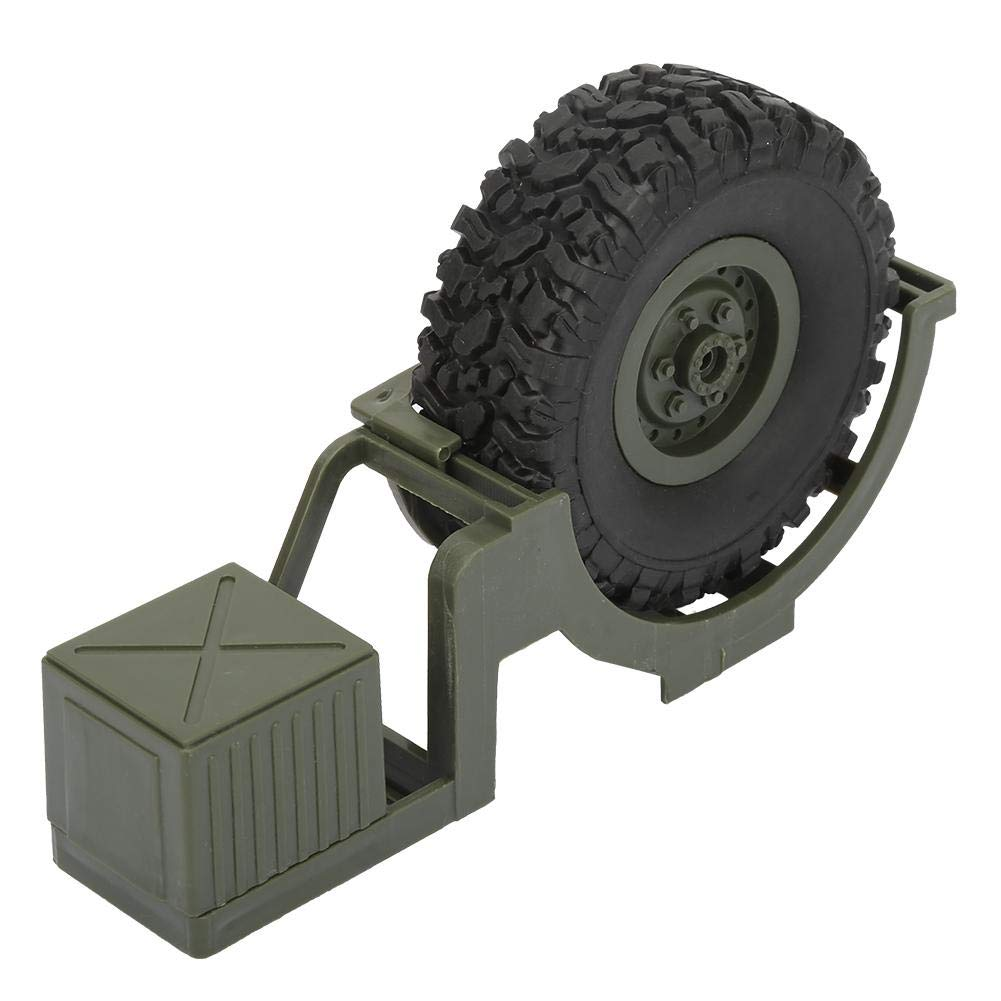 Woyisisi RC Car Decoration Parts Spare Tire Fit for WPL B36 B-36 B36K B36KIT 1:16 RC Truck//Car