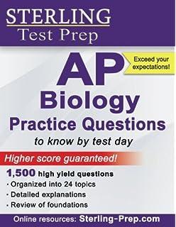 Amazon 550 ap biology practice questions college test sterling ap biology practice questions high yield ap biology questions fandeluxe Images