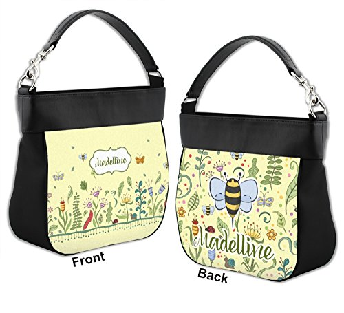 Front Back Nature Leather Trim Inspired Personalized amp; Genuine w Purse Hobo nOqX0rOwSz