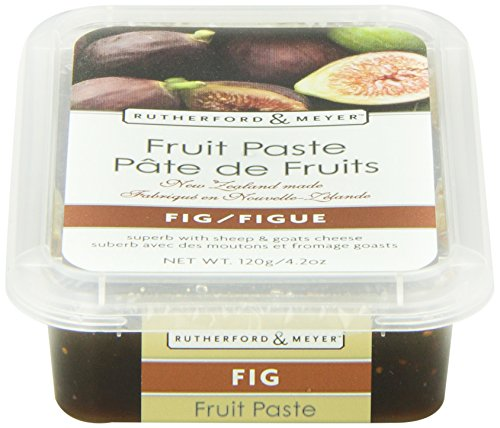 Rutherford and Meyer Fruit Paste, Fig, 4.2-Ounce Containers (Pack of 4)