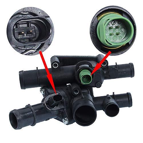 Thermostatgeh/äuse 105 /°C mit Sensor