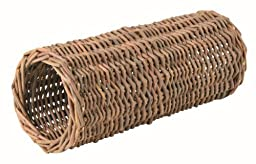 Trixie Wicker Tunnel For Hamsters, 10 × 25 Cm