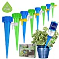 [New Upgrade] Self Watering Spike Slow Release Vacation Plants Watering System Automatic Watering Devices for Wine Bottle Small Plastic Water Bottle Irrigation Stake for Outdoor Indoor Plants Tree