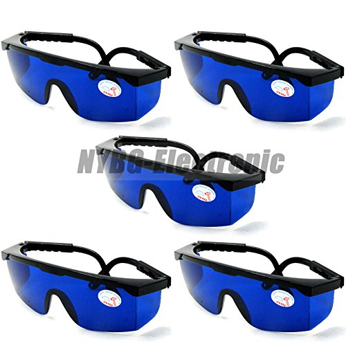 5pcs 635nm 650nm 660nm Red Laser Module Safety Glasses/Eyewear Protective - Sunglasses Laser