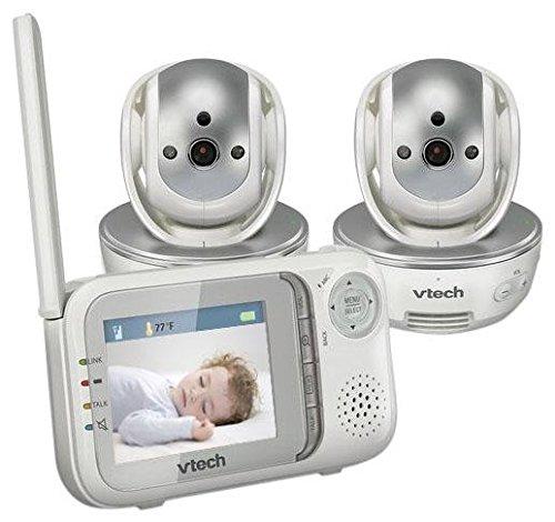 VTech Safe and Sound Baby Monitor + Extra Camera-VM333-2