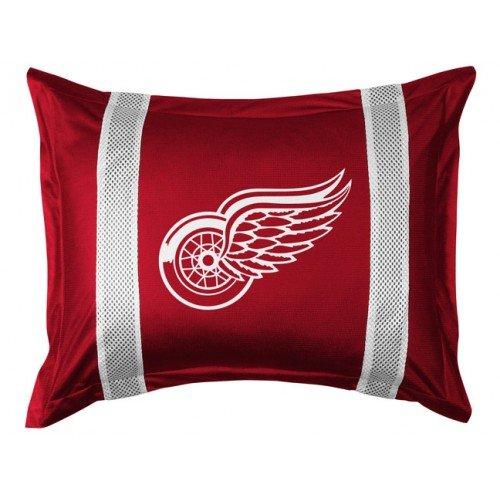 NHL Detroit Red Wings Sideline Sham (Detroit Red Wings Sham)