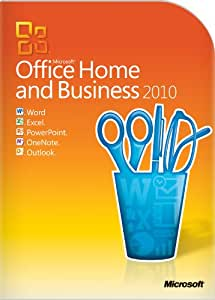 Microsoft Office Home & Business 2010 - 2PC/1User (one desktop and one portable) (Disc Version)