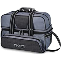 Storm S25127 - Bolsa para Bolos, Color Gris y Negro
