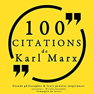 100 citations de Karl Marx | Livre audio